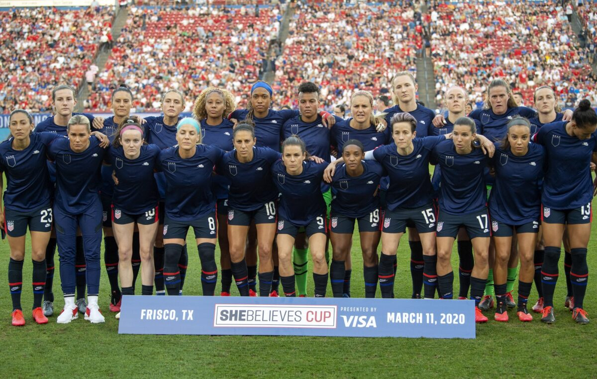 U.S. soccer rescinds policy that requires players to stand for national anthems
