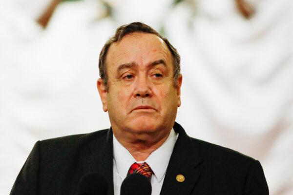 Guatemala's President Alejandro Giammattei