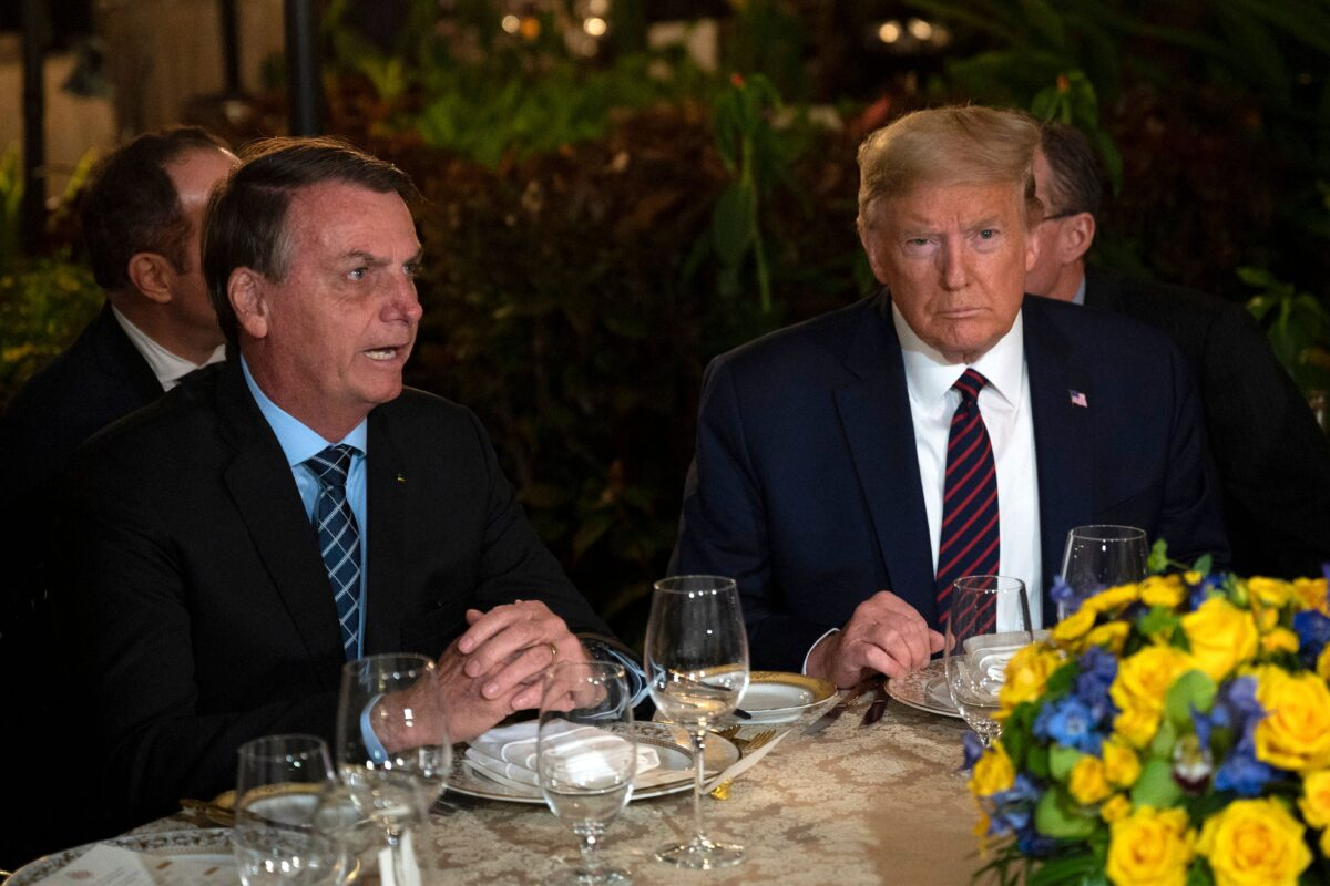 trump and bolsonaro
