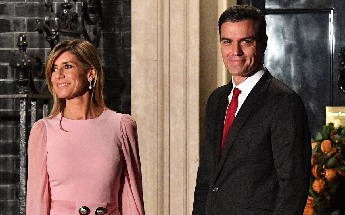 Prime Minister of Spain and wife