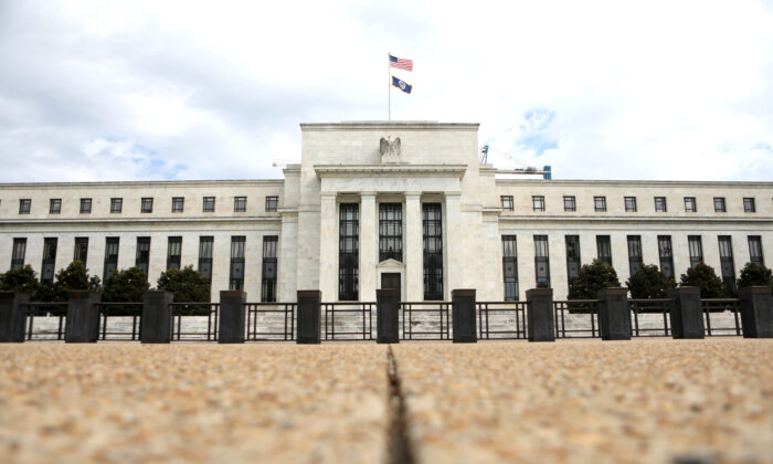 The Federal Reserve in Washington on Aug. 22, 2018. (Chris Wattie/Reuters)