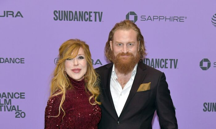 "Gry Molvær Hivju (L) and Kristofer Hivju attend the 2020 Sundance Film Festival - ""Downhill"" Premiere at Eccles Center Theatre in Park City, Utah, on Jan. 26, 2020. (Neilson Barnard/Getty Images)"