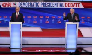 Sanders, Biden Face Off in First One-on-One Debate