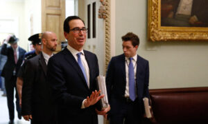 Mnuchin: Family of 4 Could Get $3,000 Amid CCP Virus Crisis