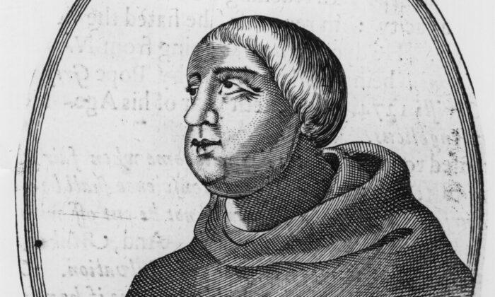 Circa 1270, Saint Thomas Aquinas (1225-1274), the Italian philosopher and theologian. (Hulton Archive/Getty Images)
