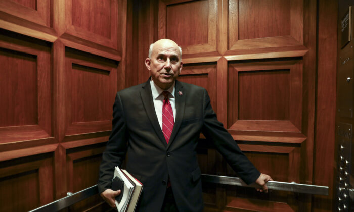 Rep. Louie Gohmert (R-Texas) on Capitol Hill in Washington on June 25, 2019. (Samira Bouaou/The Epoch Times)