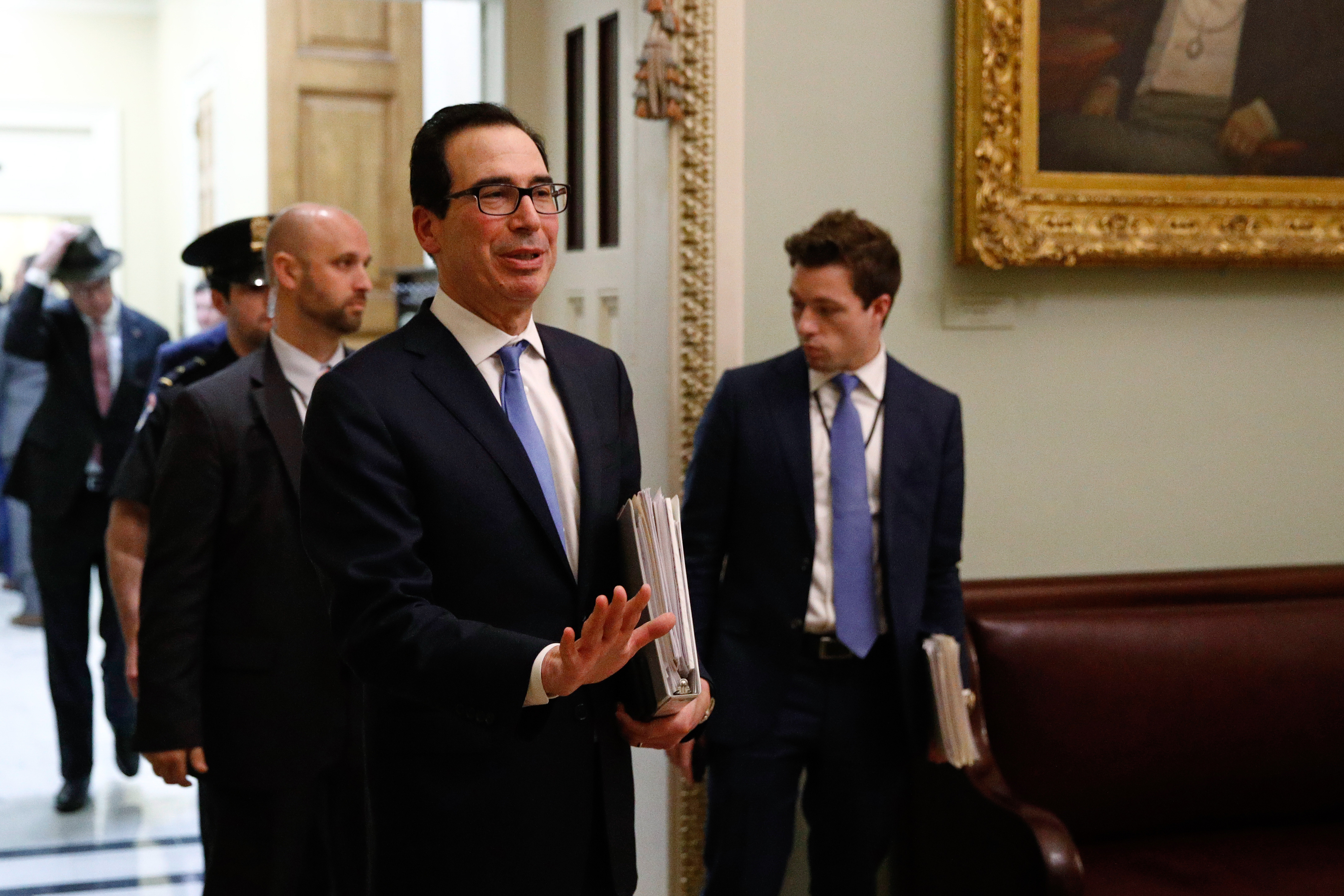 Treasury Secretary Steve Mnuchin
