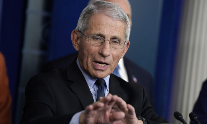 Fauci: Slight Spikes in CCP Virus Infections May Get out of Control Amid US Reopening