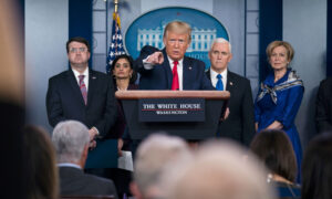 Trump Blames Chinese Regime for Pandemic: 'The World Is Paying a Very Big Price'