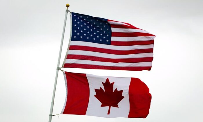 The Canada-U.S. border will be closed to non-essential traffic in both directions. (The Canadian Press)