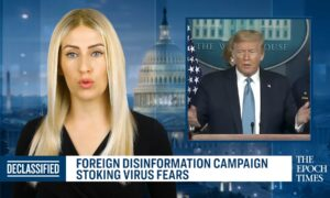 How Foreign Disinformation is Stoking Coronavirus Fears