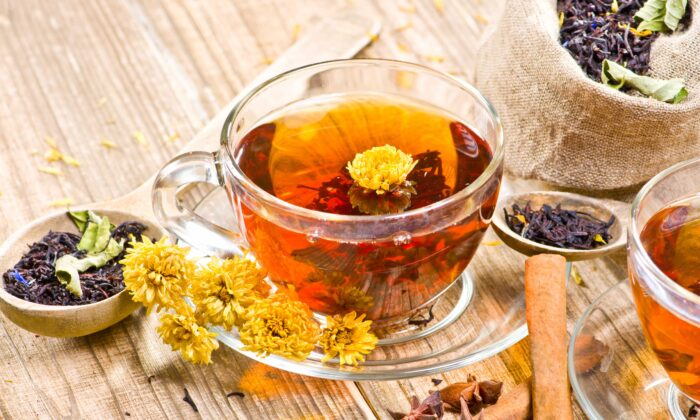 You can find an herbal tea for any taste, and sweeten it safely with stevia. (Nik Merkulov/Shutterstock)