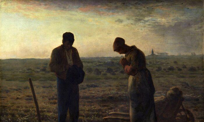 """The Angelus,"" 1857–1859, by Jean-François Millet. Orsay Museum. (Public Domain)"