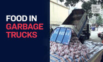 Why Does Wuhan City Deliver Meat and Food in Garbage Trucks?