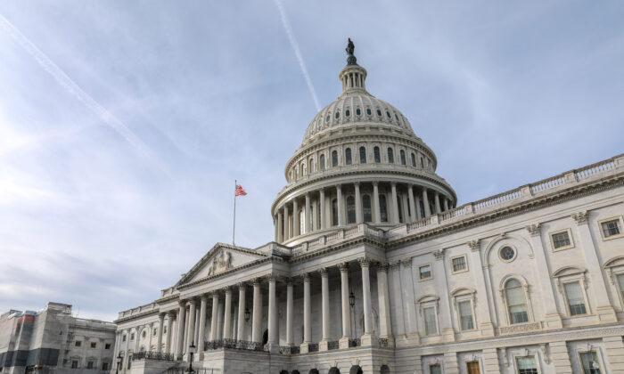 The Capitol in Washington on Jan. 2, 2020. (Samira Bouaou/The Epoch Times)