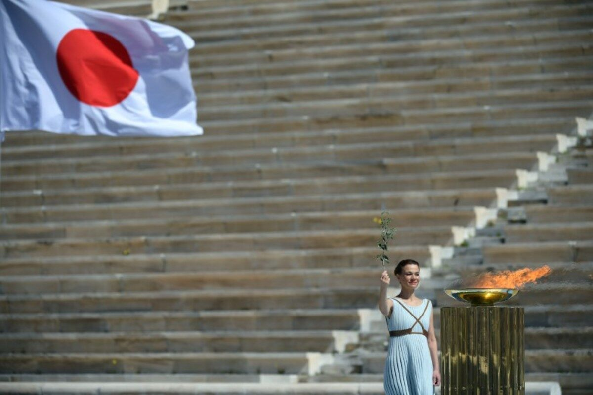 Greece-Olympic Flame Handover Ceremony