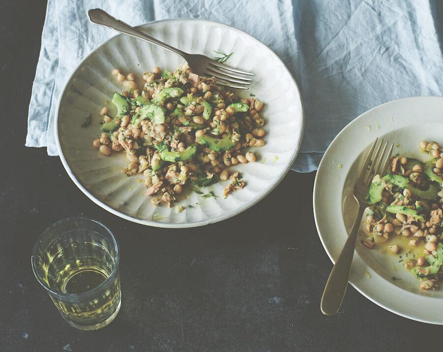Herby Tuna and Navy Bean Salad