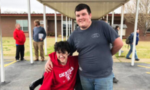 Teen Saved All His Money for Two Years to Buy His Friend an Electric Wheelchair