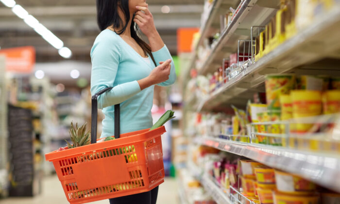 Go to the grocery store with a strategy. (Syda Productions/Shutterstock)