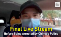 A Citizen Journalist's Final Live Stream Before Being Arrested by Chinese Police