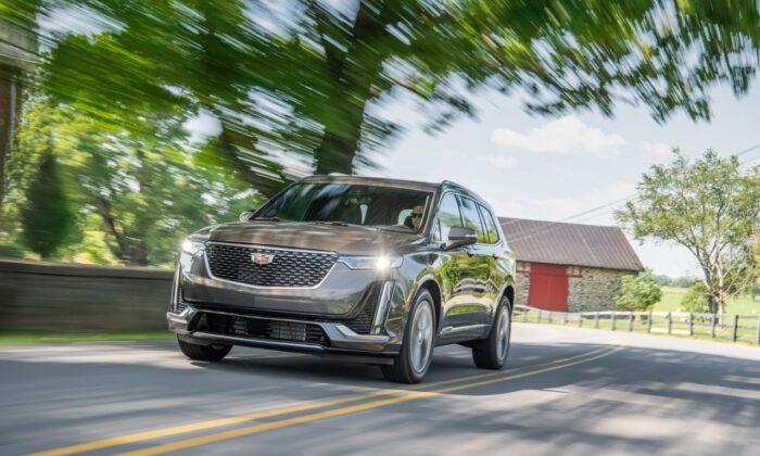 2020 Cadillac Xt6 Premium Luxury. (Courtesy of Cadillac)