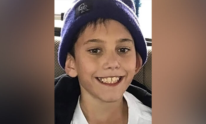 Gannon Stauch, 11, has been missing for a week after he left his home to play at a friend's house. (Courtesy of El Paso County Sheriff's Office)