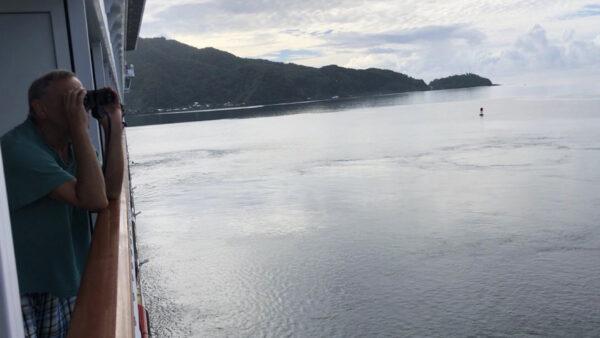 Jay Martinez captured this shot on board the Norwegian Jewel.