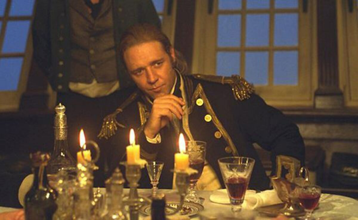 Russel Crowe in Master Commander