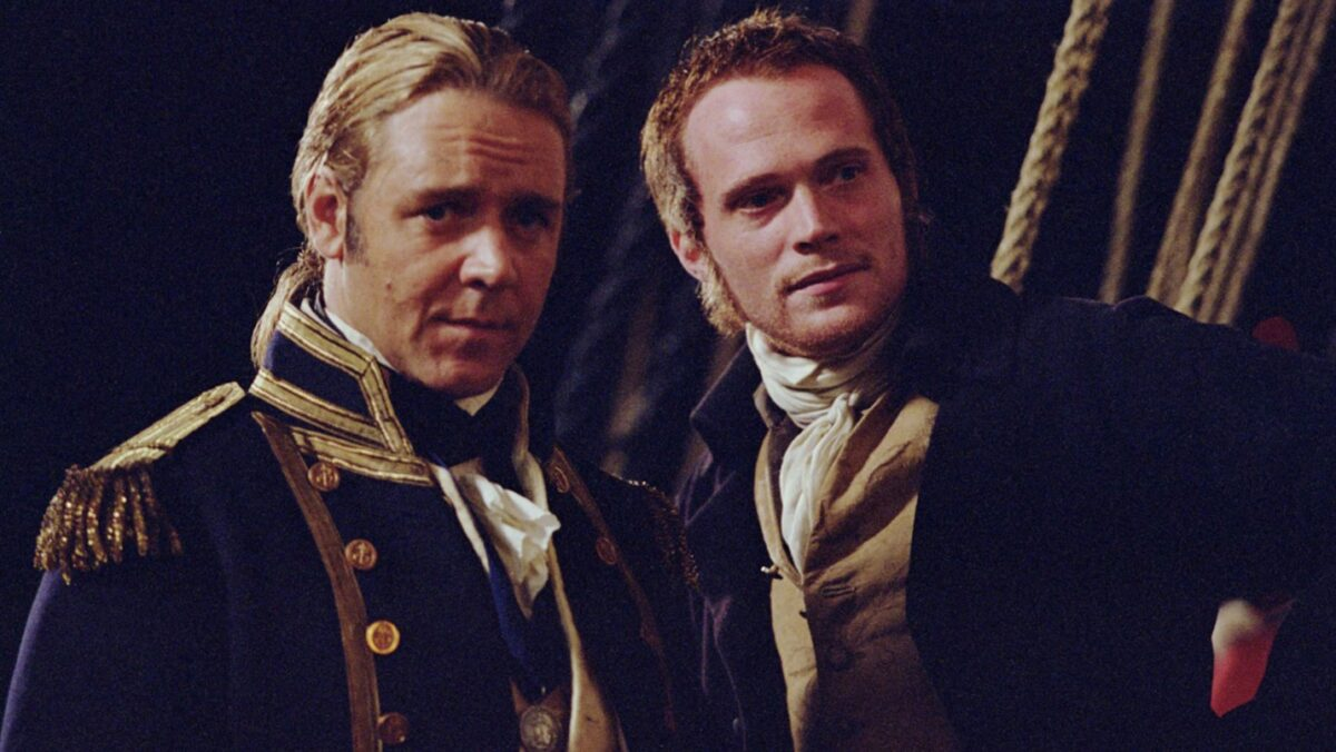 captain and surgeon aboard a 18th century ship