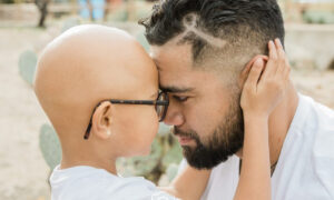 Dad Celebrates Birthday by Asking Daughter With Alopecia to Shave His Head