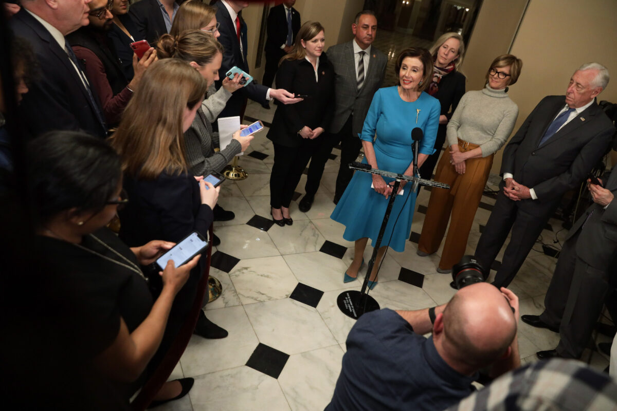 Pelosi Not Considering Another Trump Impeachment, Says Its...