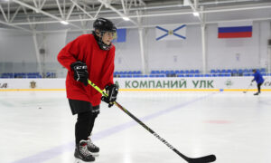 At 80, Russian Great-Grandmother Fired Up by Passion for Ice Hockey