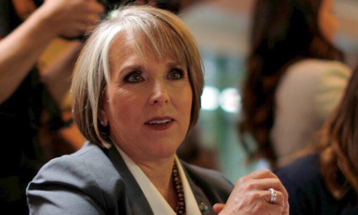 Governor Michelle Lujan Grisham in Albuquerque, New Mexico, on Nov. 6, 2018. (Reuters/Brian Snyder)