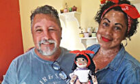 Grandpa Knits Dolls With Vitiligo for Kids Suffering From This Rare Skin Condition