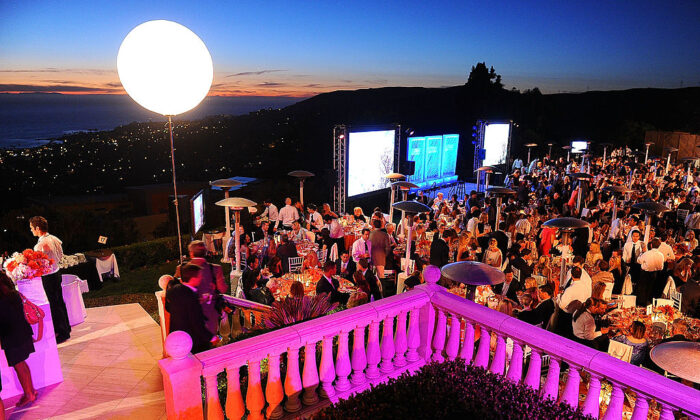 A general view of atmosphere during the annual Oceana SeaChange Summer Party at Villa di Songi in Laguna Beach, Calif., on Oct. 1, 2011. (Jason Merritt/Getty Images)