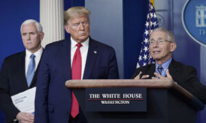 Trump: Fauci 'Made a Lot of Mistakes' During Pandemic