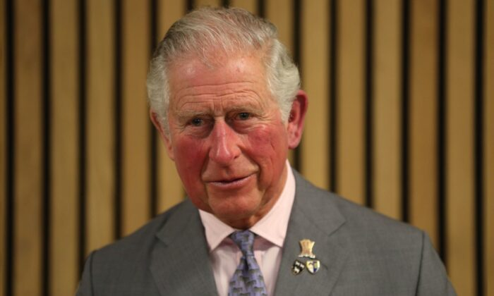 Prince Charles, Prince of Wales, speaks during a visit to Kellogg College in Oxford, England, on March 5, 2020. (Andrew Matthews-WPA Pool/Getty Images)
