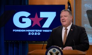 Pompeo: G-7 Countries Agree to Push Back Against Beijing's Pandemic Disinformation Campaign