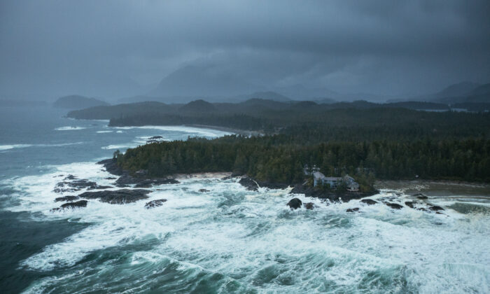 Nature's majesty made manifest in stormy weather. (Jeremy Koreski for The Wickaninnish Inn)