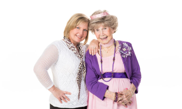Judy Gaman (L) with her close friend Lucille Fleming. (Courtesy of Judy Gaman)