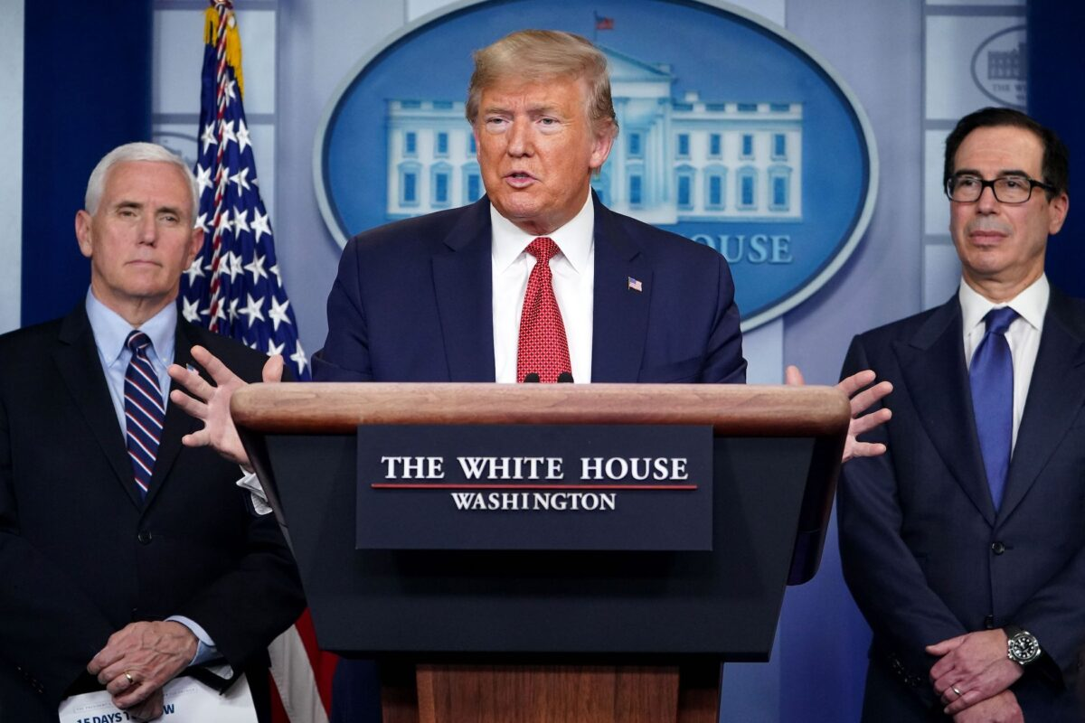 Trump Reiterates That US Has to 'Go Back to Work'