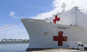 Navy Hospital Ship to Arrive in NYC on Monday