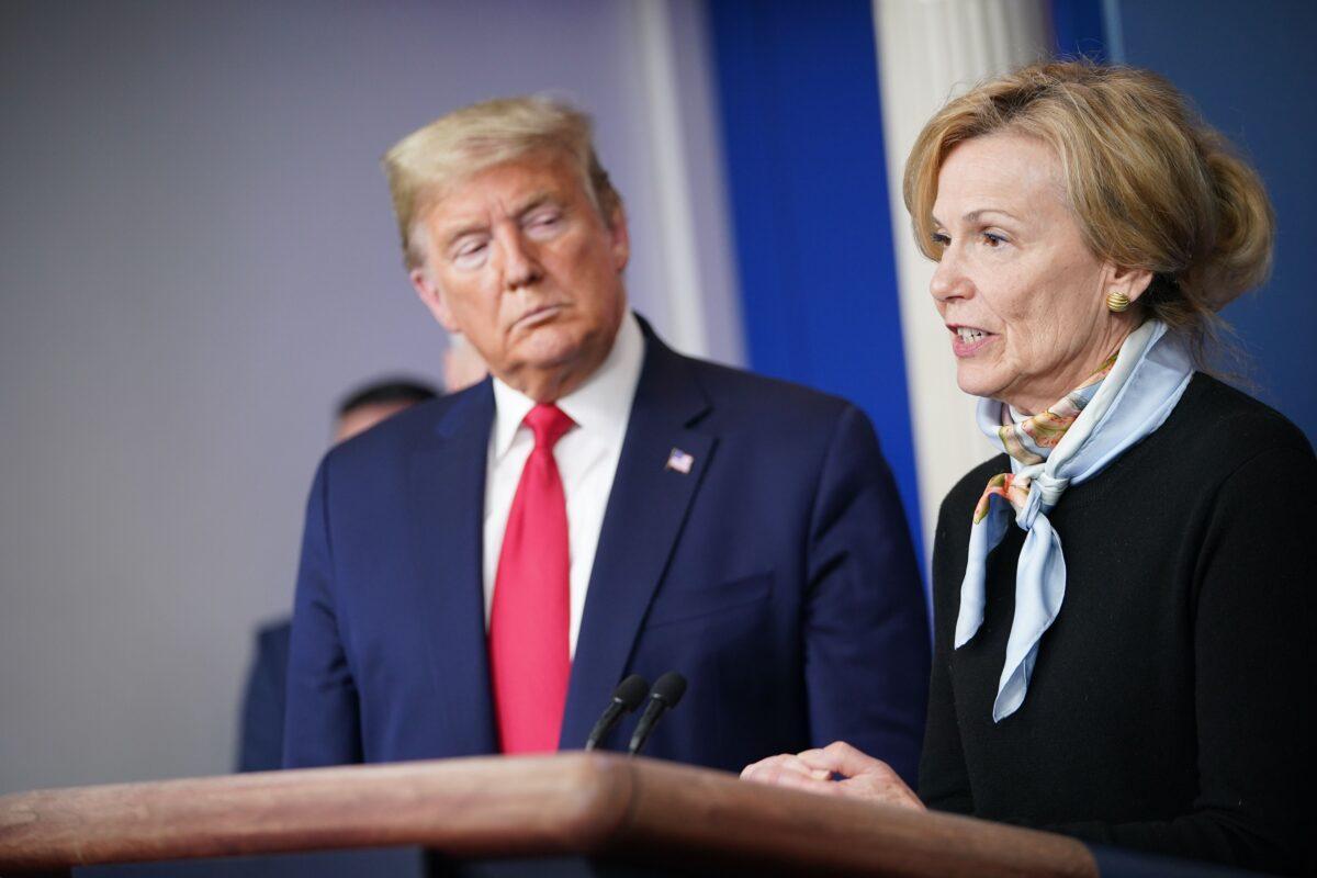 White House Coronavirus Task Force Deborah Birx speaks