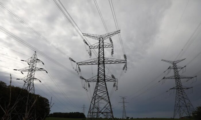 Hydro One electricity transmission lines are seen south of Chesley, Ont., on  Sept. 29, 2019. (Colin Perkel/The Canadian Press)