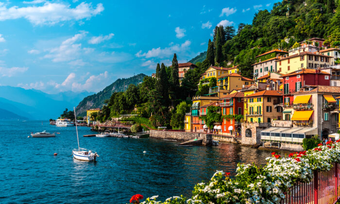 The small town of Varenna, on Lake Como, has a train station and is easy to get to. (Alex Mit/Shutterstock)