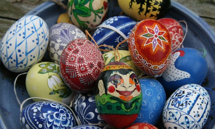 The tradition of Easter Eggs relates the egg to Christianity. (Bee Felten-Leidel / Unsplash)