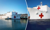 US Naval Hospital Ship 'Mercy' Arrives in LA, Offers Relief to Hospitals, While 'Comfort' to Set Sail to NY