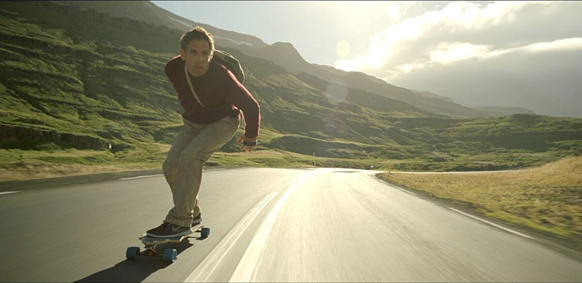 man on skateboard on highway