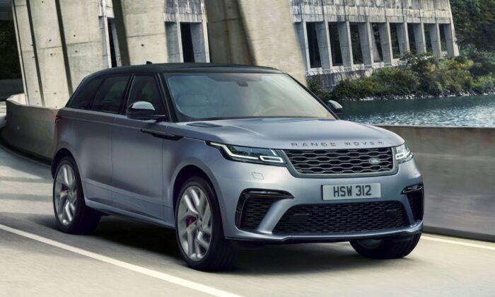 2020 Range Rover Velar. (Courtesy of Land Rover)
