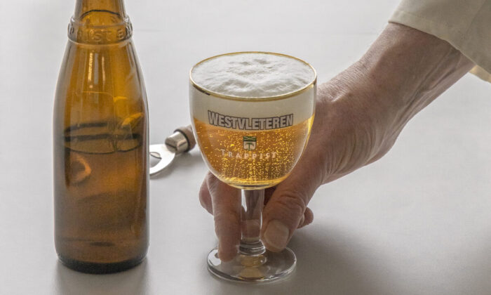 Westvleteren 12, brewed within the walls of Belgian's Saint-Sixtus Abbey, is often billed as the best beer in the world. (Courtesy of Saint-Sixtus Abbey Westvleteren)